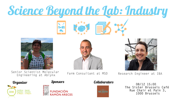 Science Beyond The Lab: Industry - 8 December 2018
