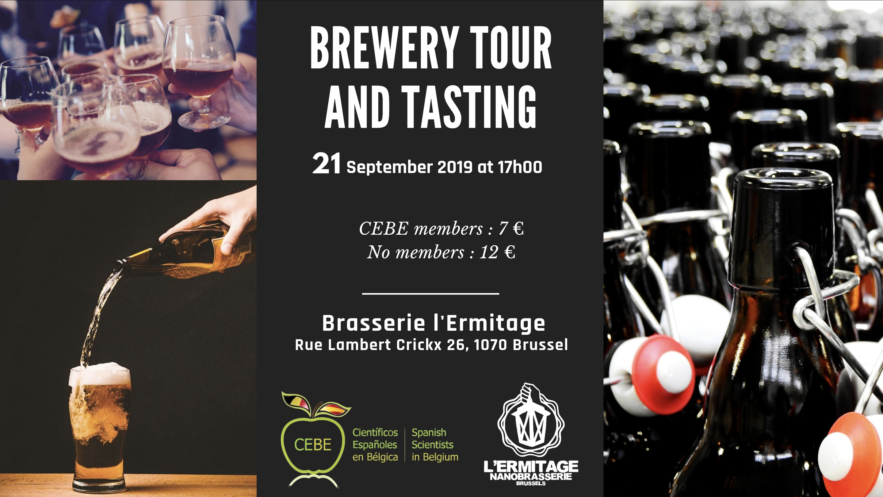 Brewery tour and beer tasting - NanoBrewery L'Hermitage