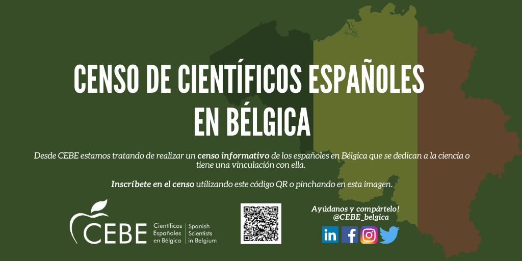 Census spanish scientists in Belgium