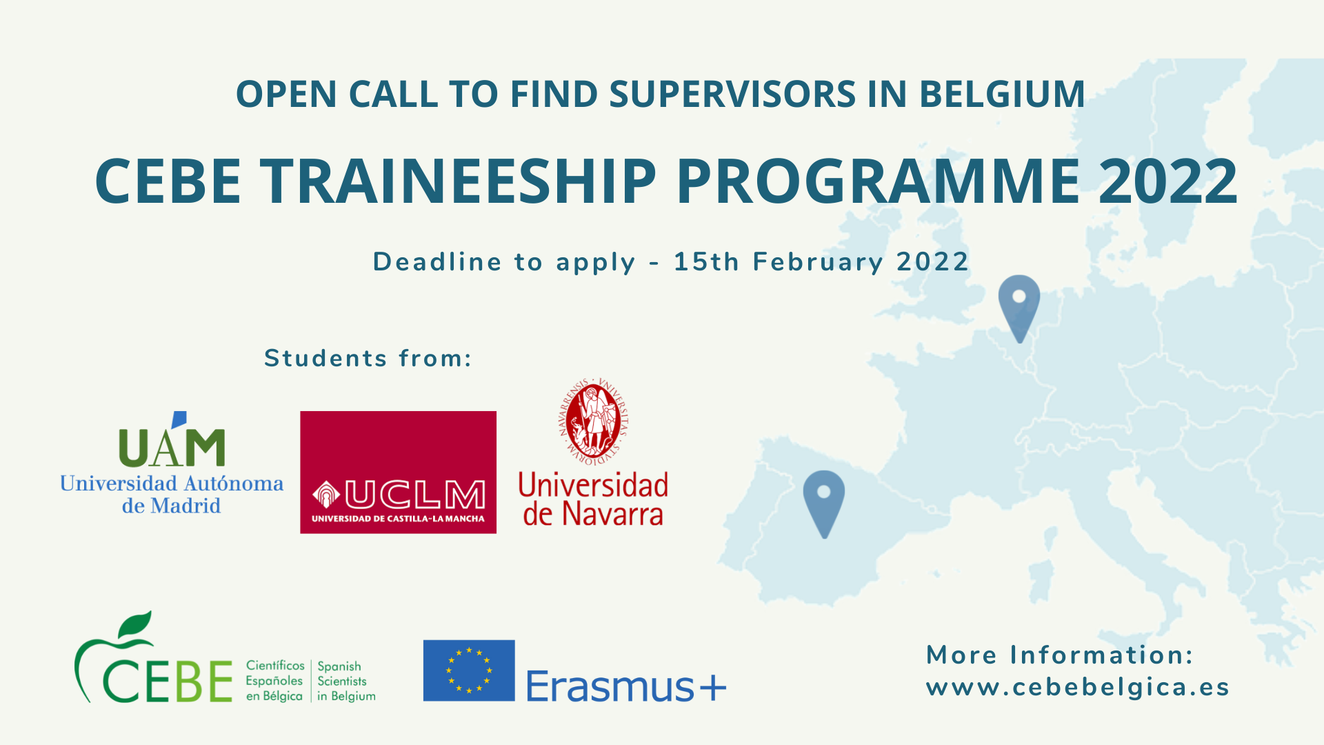 CEBE Traineeship program 2021 - deadline extended